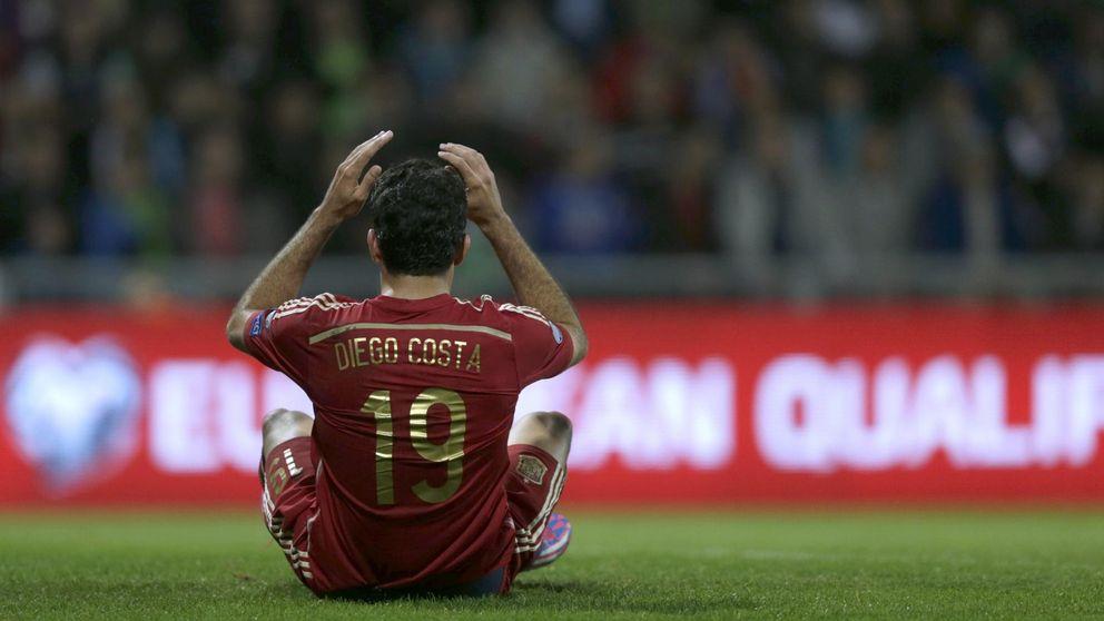 Mourinho gana: Del Bosque evita convocar a un Diego Costa reducido