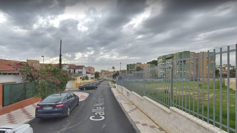 Calle Núñez Vela de Málaga, donde se produjo la intervención policial. (Google)