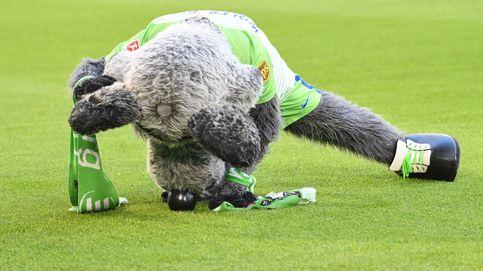 'Woelfie' la mascota del Wolfsburgo