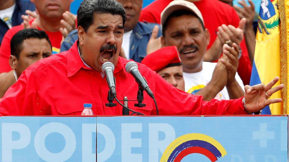 Foto: Nicolás Maduro en Caracas. (Foto: Reuters)