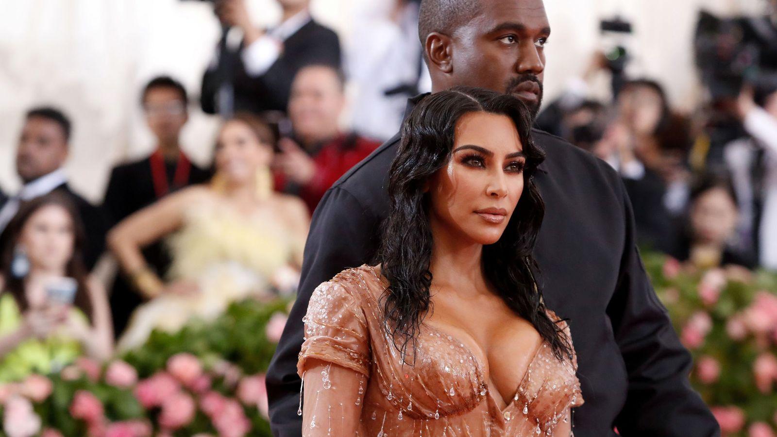 Foto: Kim Kardashian y Kanye West (REUTERS)