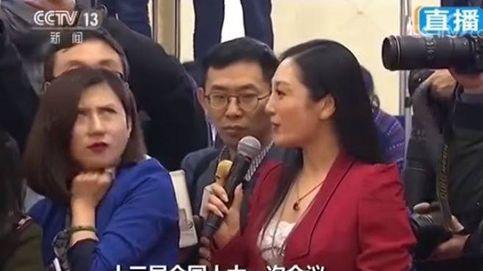 El Gobierno chino silencia a una periodista solo porque puso los ojos en blanco