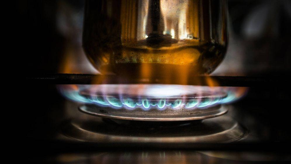 Foto: Una cocina de gas.