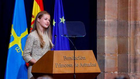 El covid-19 centra el segundo discurso de Leonor en los Princesa de Asturias