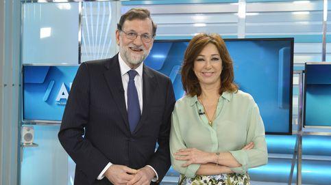 El empujón de Mariano Rajoy a Ana Rosa Quintana