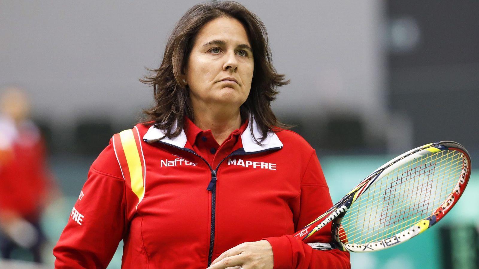 Foto: La federación destituyó a Conchita Martínez el pasado jueves. (EFE)