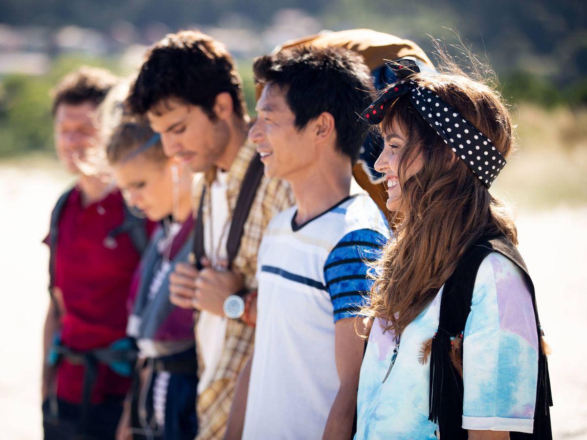 Foto: Protagonistas de '3 Caminos'. (Amazon prime Video)