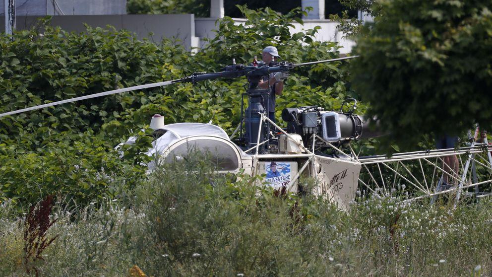 Un conocido criminal francés escapa de la prisión en un helicóptero