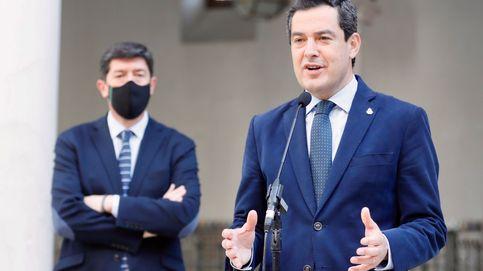 PP y Cs cierran en Andalucía un pacto fiscal con Vox en plena polarización por el 4-M