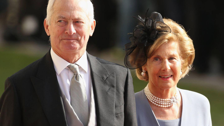 Hans Adam y Marie-Aglaé.