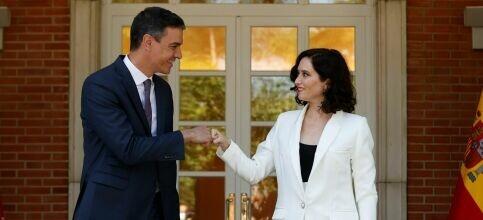 Foto de La descentralización de Sánchez, un regalo para Ayuso: Nunca van a gobernar Madrid