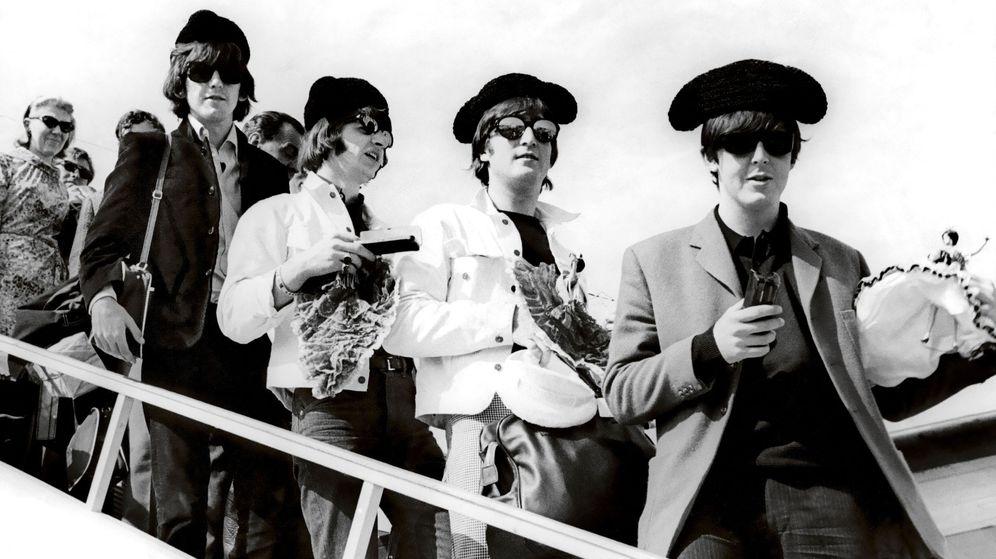 Foto: Los Beatles, en una de sus visitas a España (EFE/Kike Pérez de Rozas)