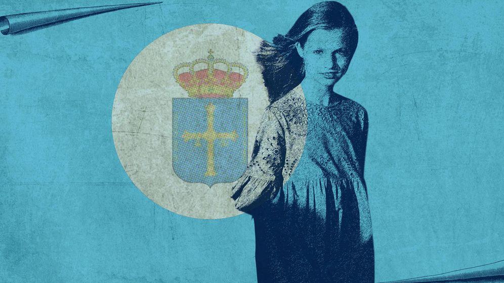 Foto: La princesa de Asturias protagonizará el sábado próximo su primer acto oficial. (LP)