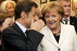 Sarkozy y Merkel presionan a Bruselas para que ponga coto a los CDS soberanos y a los cortos