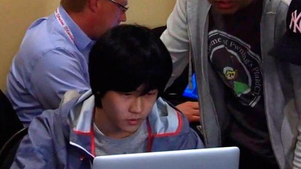 Foto: Jung Hoon Lee, durante el evento de HP