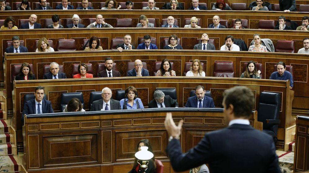 Foto: Sesión de control del Congreso de los Diputados. (EFE)