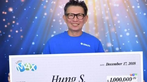 Ganó la lotería con 4 compañeros de trabajo y huyó del país para no darles su parte