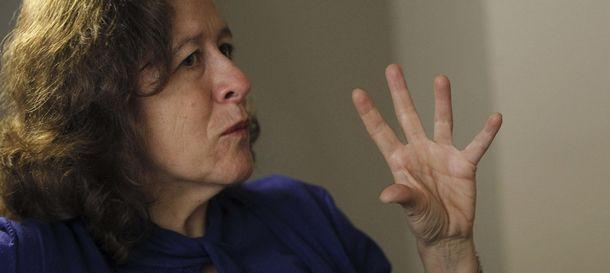 Foto: La periodista y escritora Berna González Harbour (EFE)