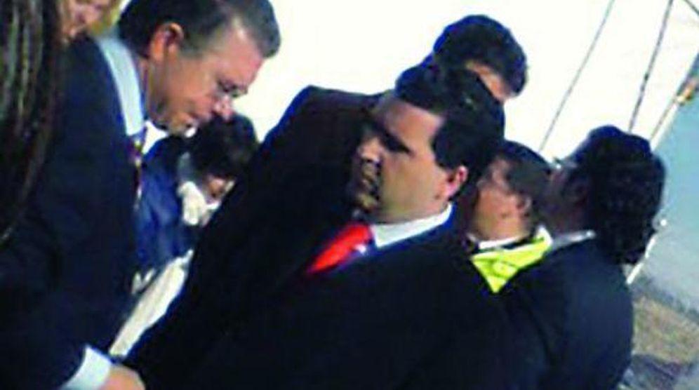 Foto: David Marjaliza (c), junto a Francisco Granados.