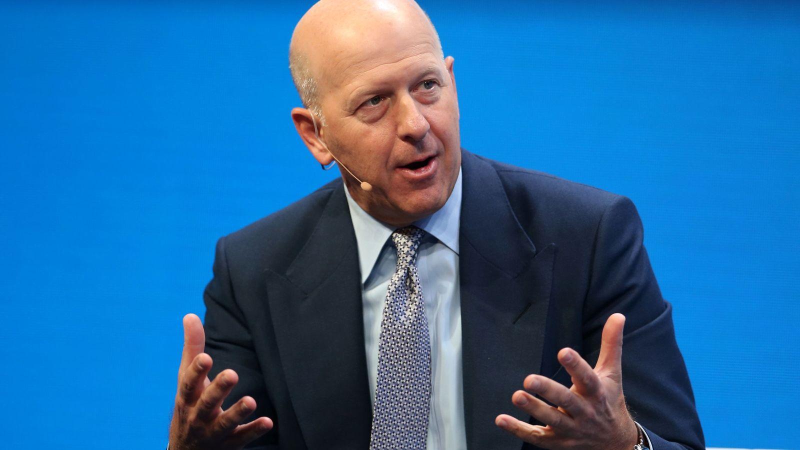 Foto: David Solomon, presidente de Goldman Sachs