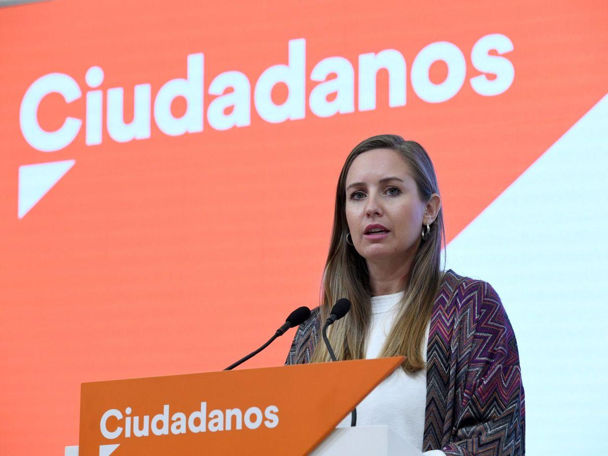 Foto: La portavoz de la Comisión Gestora de Ciudadanos, Melisa Rodríguez. (EFE)