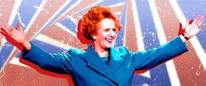 Foto: Los artistas británicos, más thatcheristas que Margaret Thatcher