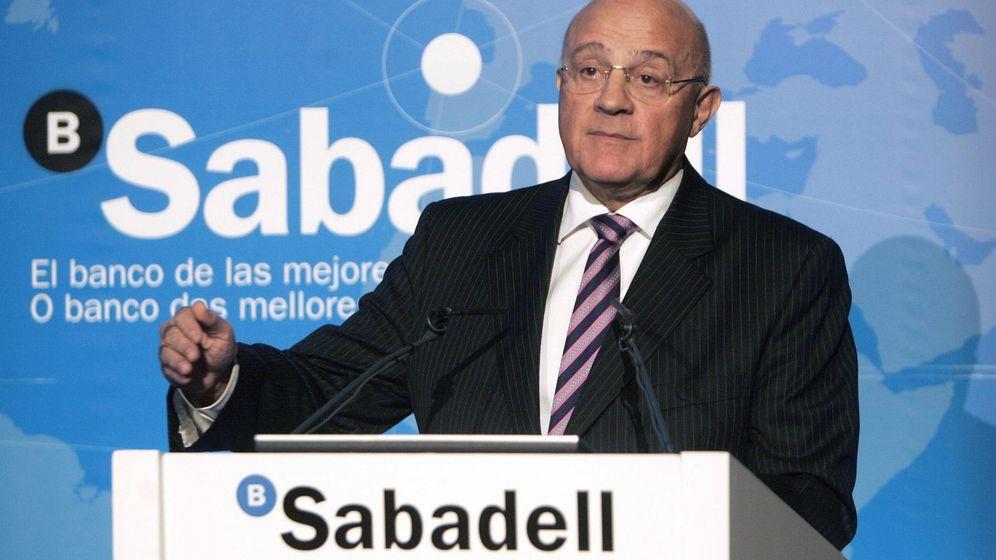 Foto: El presidente del Banco Sabadell, Josep Oliú (Efe)