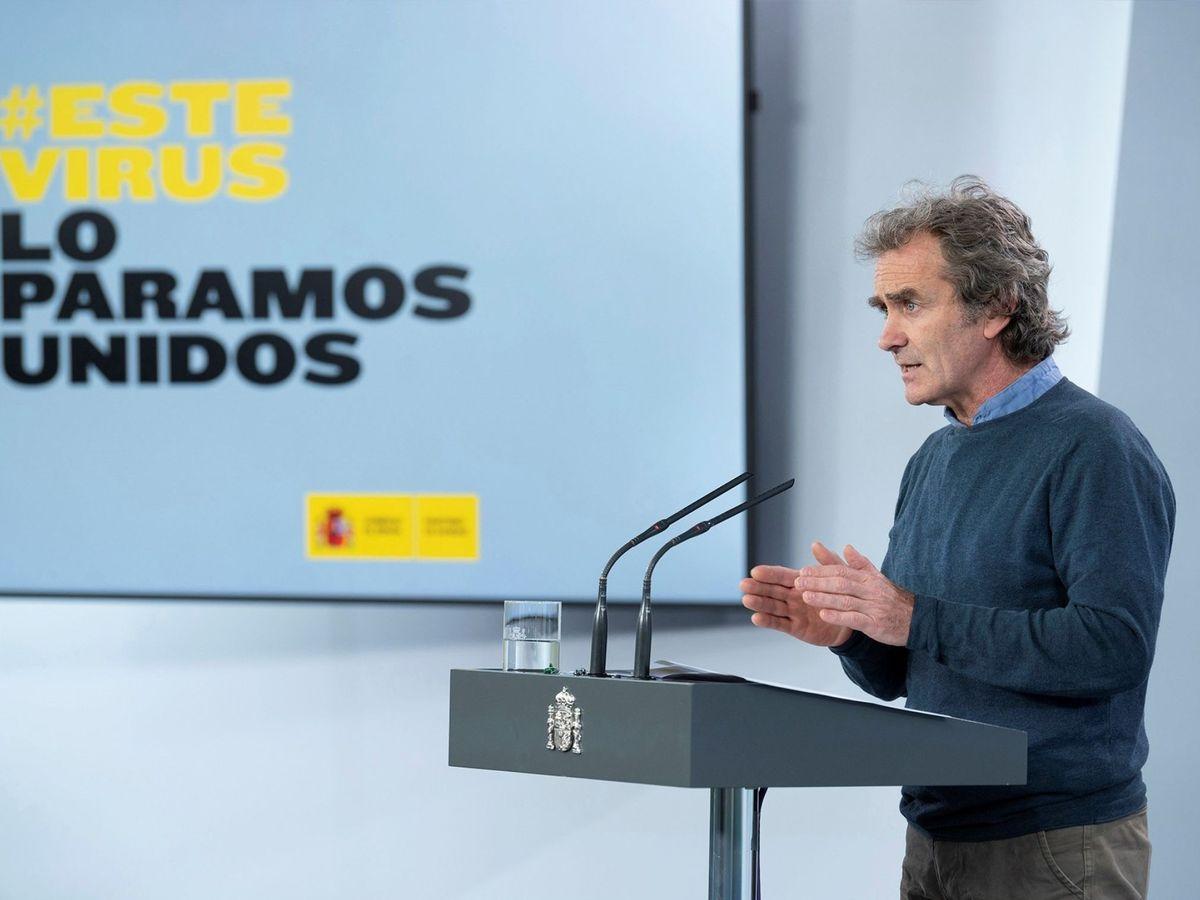 Foto: El director del Centro de Alertas y Emergencias Sanitarias del Ministerio de Sanidad, Fernando Simón. (EFE)
