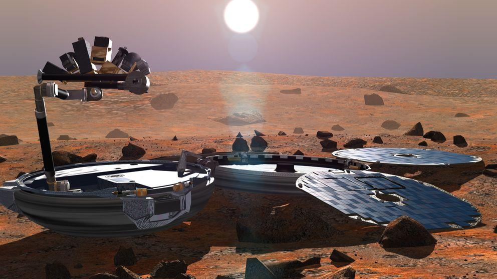La NASA encuentra en Marte una sonda perdida por la ESA hace 11 años