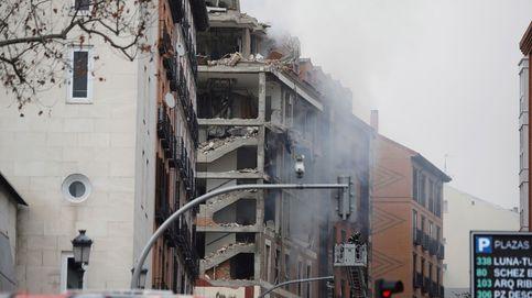 La explosión de la calle Toledo de Madrid, en imágenes