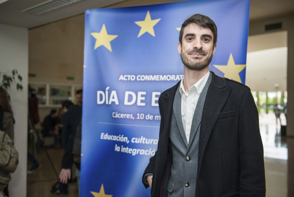 Foto: El editor de 'Politikon', Pablo Simón. (E. M./EFE)