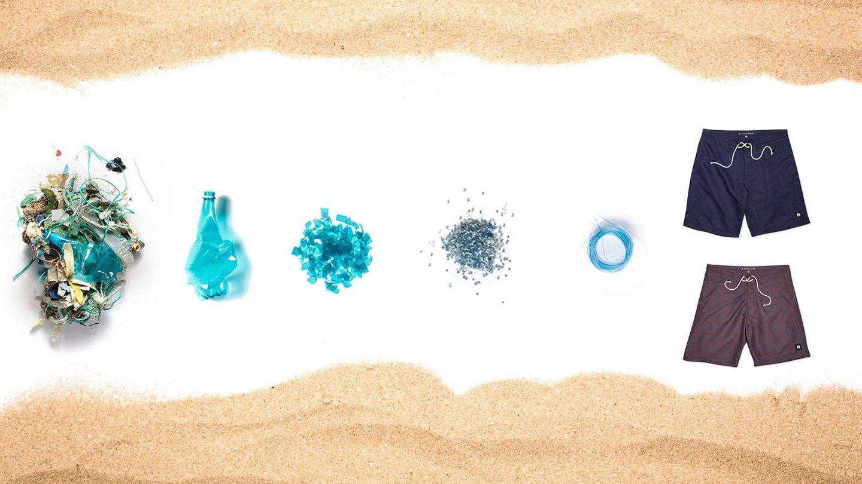 El reciclaje del plástico oceánico en tejido va a más (EFE)