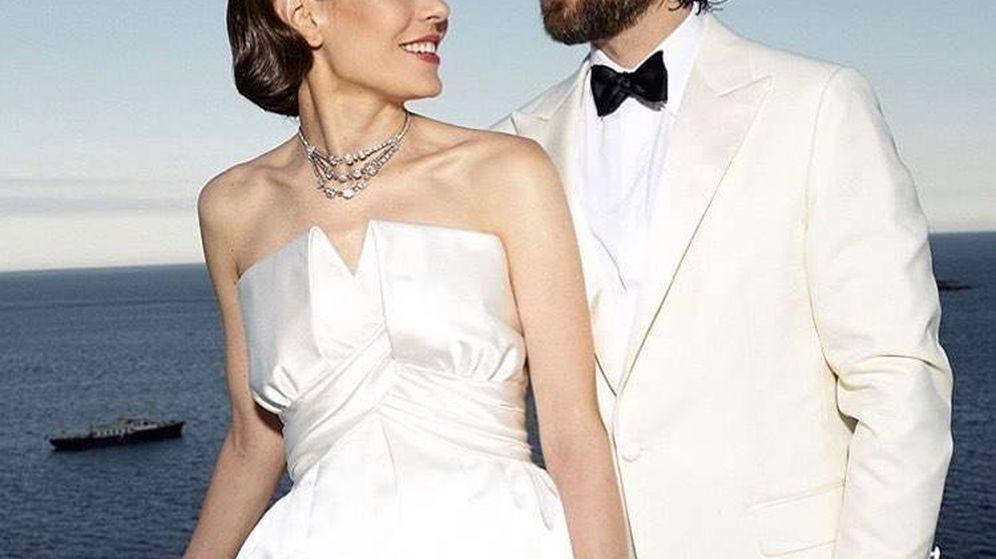 Foto: Carlota y Dimitri el día de su boda. (Fotos oficiales)