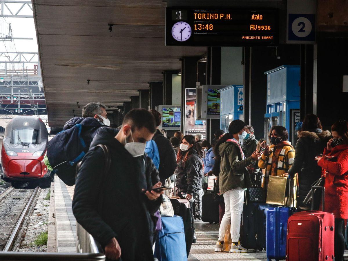 Foto: Estación de Termini en Roma. (EFE)