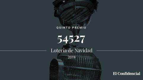 Solo quedan dos: el sexto de los quintos premios cae en el 54527: 6.000€ al décimo