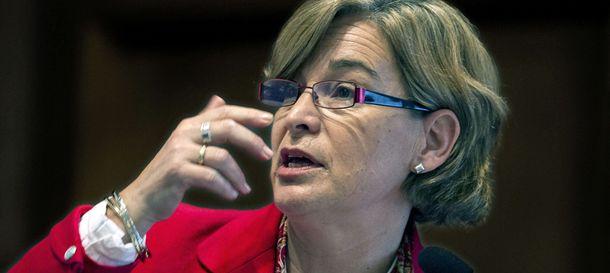 Foto:  La presidenta de Sareb, Belén Romana (Efe).