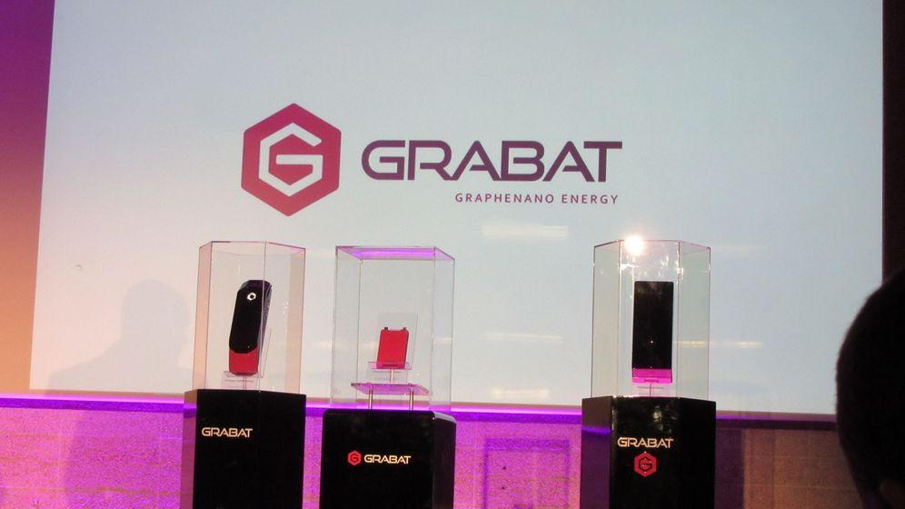 Foto: Grabat, las nuevas baterías de polímero de grafeno