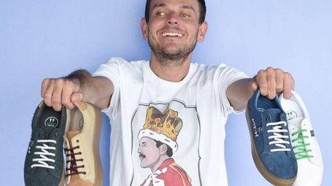 La historia de Diego Soliveres, el ciego español que diseña las zapatillas de moda