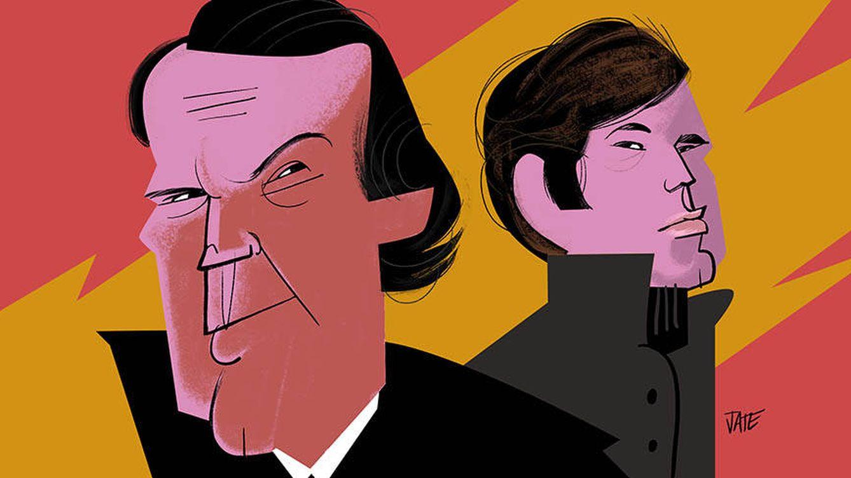 Raphael y Julio Iglesias no son amigos pero... ¿y enemigos? La verdad sobre su relación