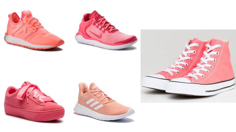 ¿A qué esperas para hacerte con tus sneakers coral?