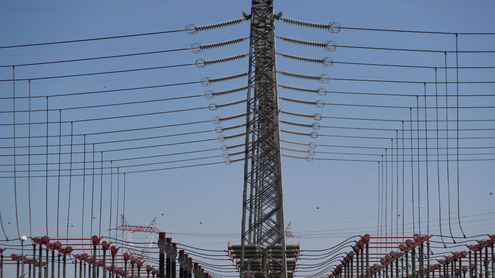 Foto: Foto de archivo de una subestación eléctrica. (Reuters)