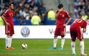 Sin Fernando Torres ni David Villa, España no sabe marcar goles