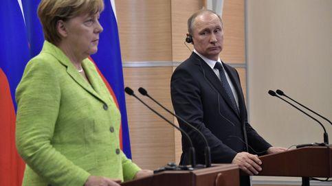 Tenso encuentro entre Merkel y Putin: la UE mantendrá las sanciones a Rusia