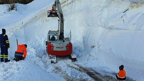 Búsqueda en San Isidro: localizan el cuerpo del segundo operario sepultado por un alud de nieve