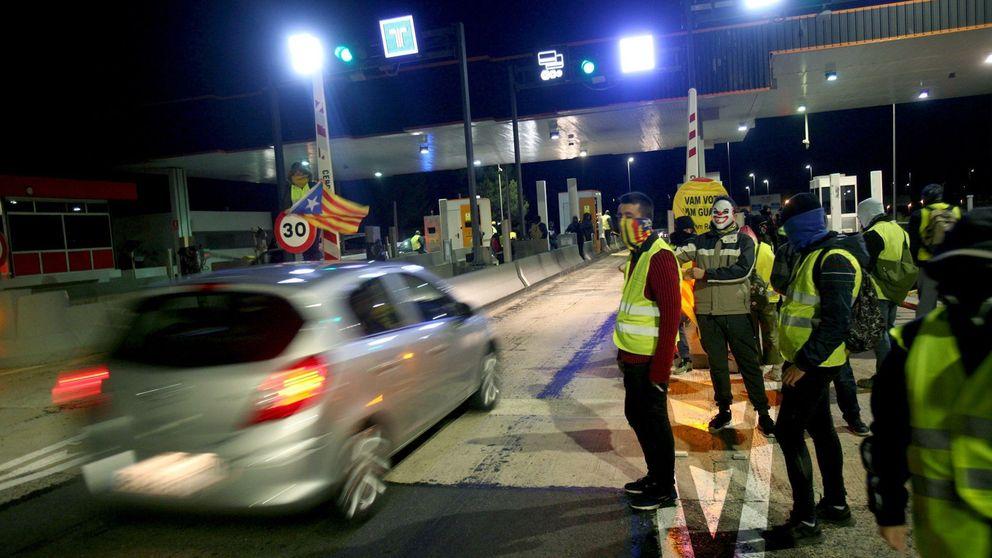 Los CDR boicotean en plena Operación Retorno los peajes de las autovías catalanas