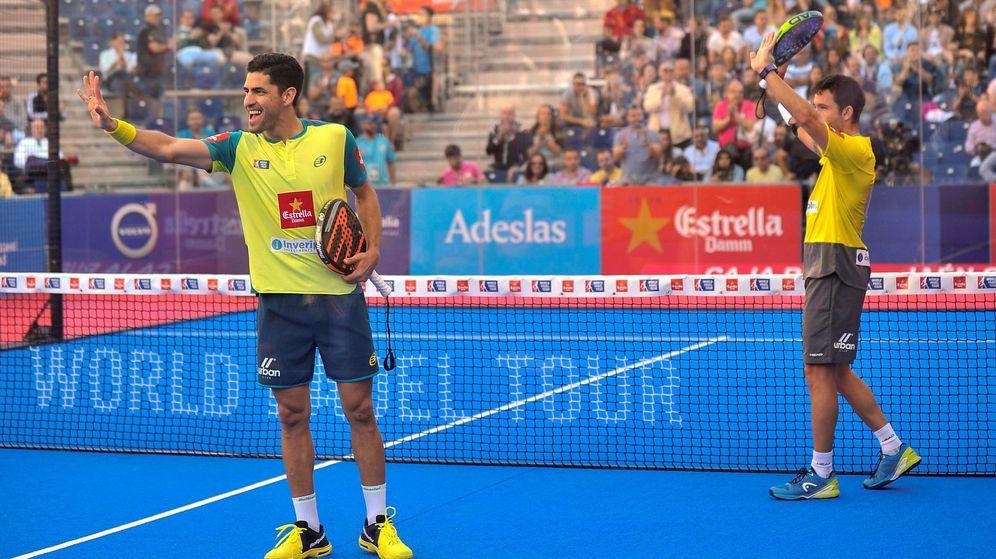 Foto: Maxi Sánchez y Sanyo Gutiérrez jugarán una nueva final. (EFE)