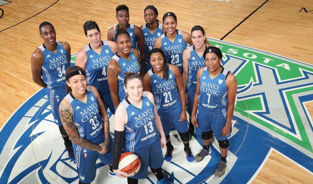 Foto: Cruz (2ª por la izquierda) jugará su segunda final de la WNBA (Foto: David Sherman/Getty/WNBA)