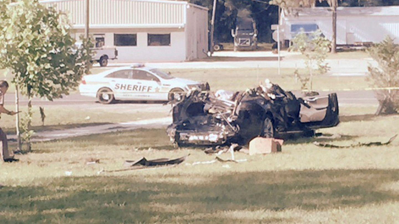 Imagen del Tesla Model S autónomo accidentado (Foto: Reuters)