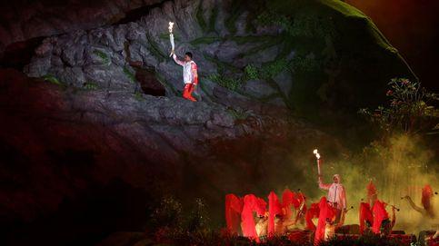 Ceremonia de apertura de los juegos asiáticos