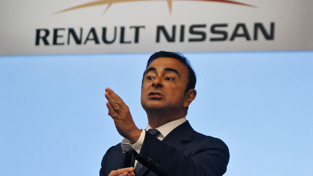 Foto: Carlos Ghosn, presidente y CEO of the Renault-Nissan Alliance
